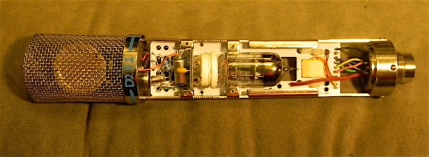 D251 Tube mic guts front