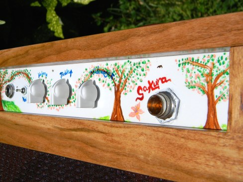 Sakura woodchipper - faceplate close-up 1