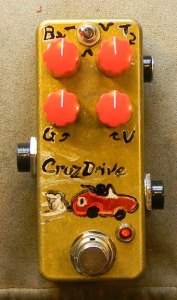 Cruz Drive - Red knobs