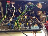 Compressor time - back of panel