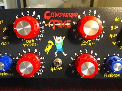 Compressor Time panel detail